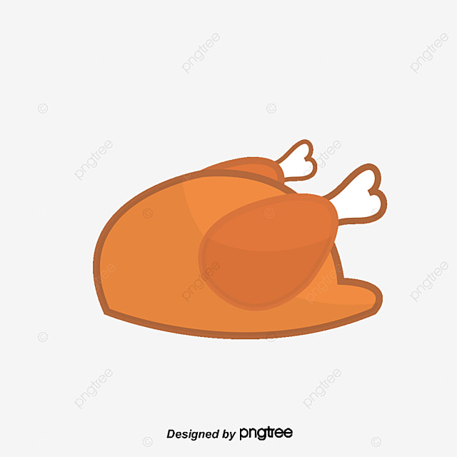 A Roasted Chicken Vector Diagram Roast Chiken PNG And