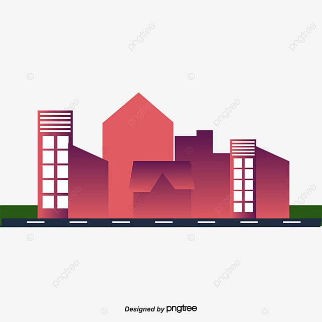 Journal Foto And Wallpaper Building: Cartoon City, Cartoon, Urban, City PNG And Vector For Free