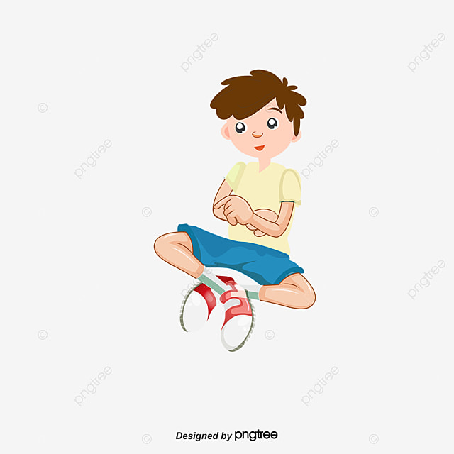Sad Boy Cartoon Boy Character Png And Vector For Free Download
