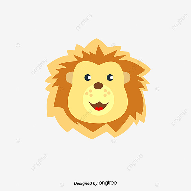 golden lion head vector hand golden lion png and vector