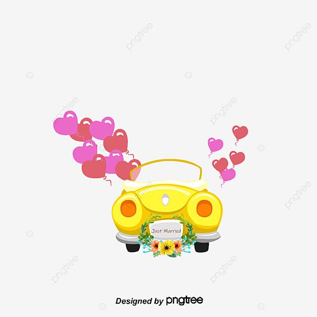 Dessin de voiture mariage voiture de location dessin de voiture fichier png et psd pour le - Dessin voiture mariage ...