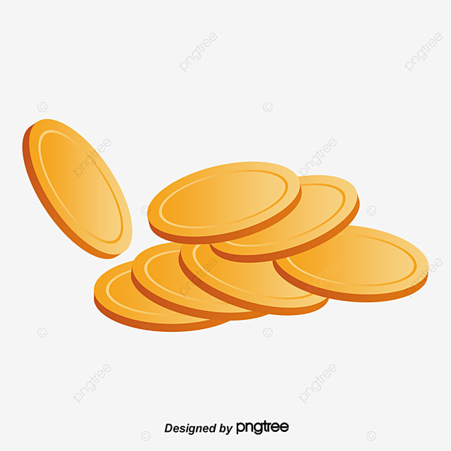 a pile of gold coins gold vector vector png gold png