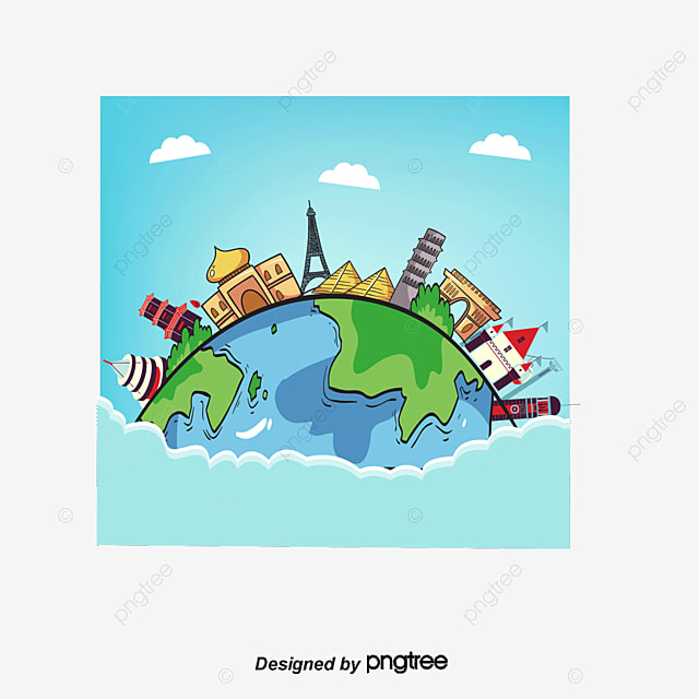 world travel free of charge world free travel vector diagram png