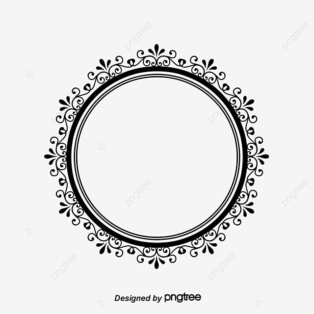 Oval frame ellipse photo frame european photo frame png for Image miroir photoshop