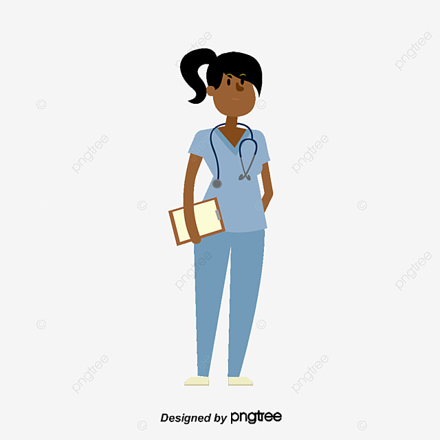 Green nurse, Vector Png, Nurse, Female Nurse PNG and Vector for Free Download