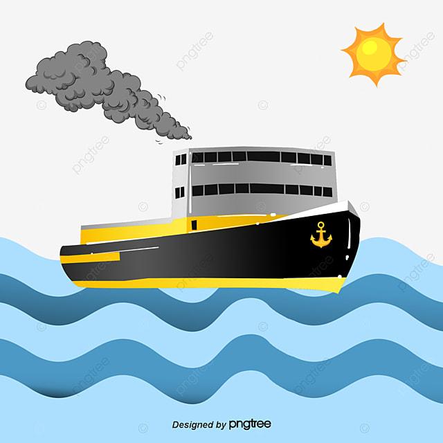 Marine Ship Cartoon Ship Sea Patrol Great Voyage Comics
