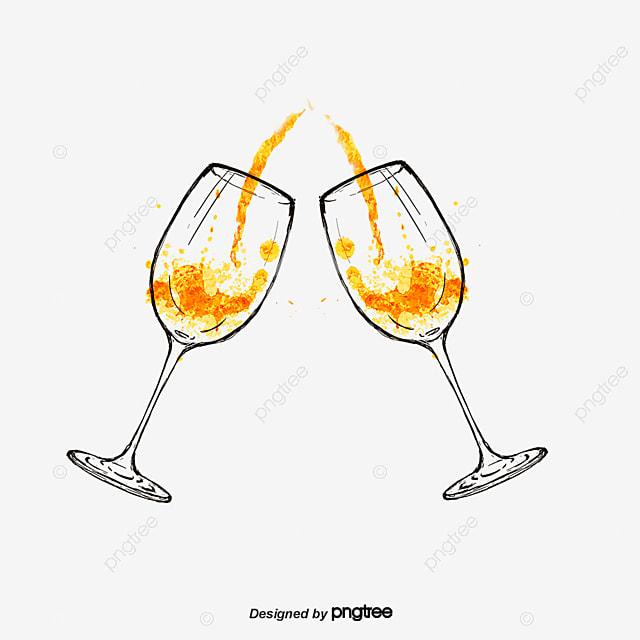 Copas de champagne en una fiesta champagne copa de vino for Imagenes de copas brindando