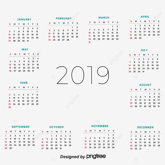 2018 Desk Calendar Board Template Png And Vector
