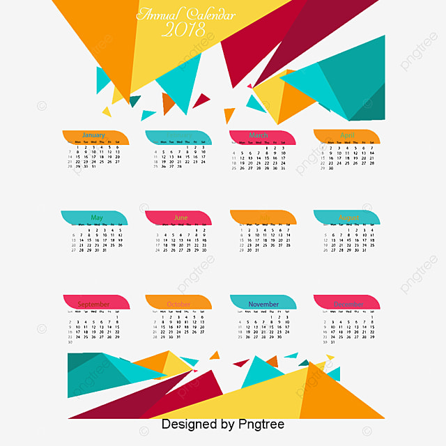 2018 Desk Calendar Png Images Vectors And Psd Files Free