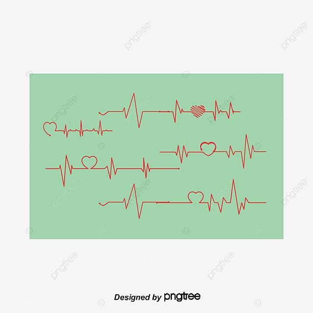 Rojo Corazón Latido Test Bienestar Público Red Love