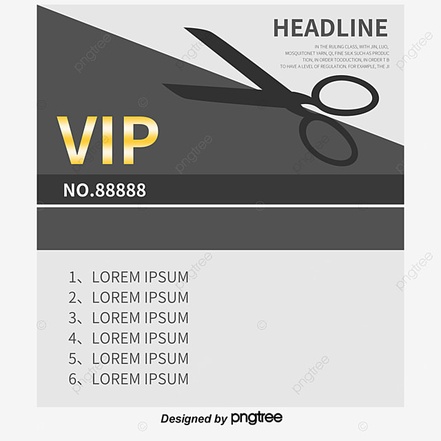 Hairdressing Agency Card Hair Shop Cosmetics Business Card Png And
