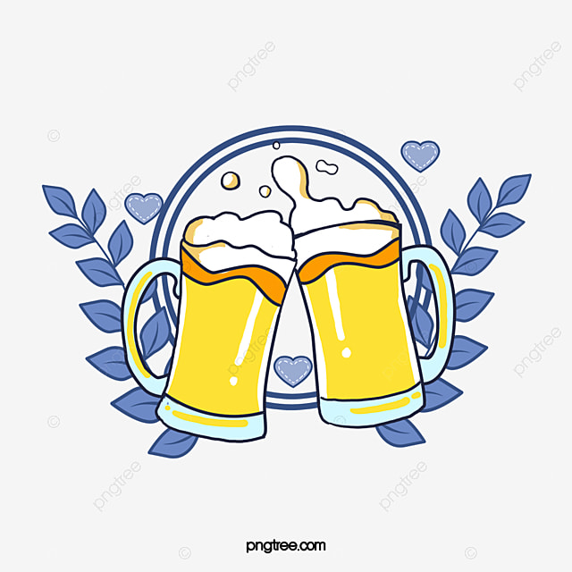 Blue Circle, Cheers, Beer, Vector Png, Beer, Cheers! PNG ...