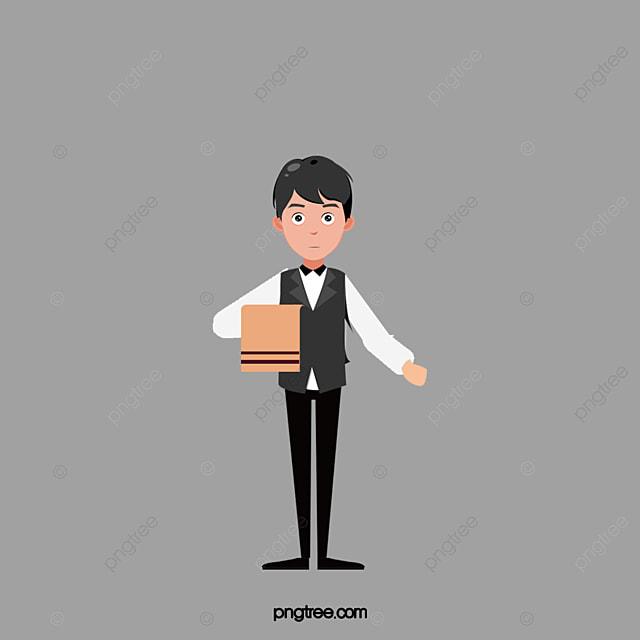 Elegant Waiter_3326300 on Dibujos Para Imprimir Gratis Estrella