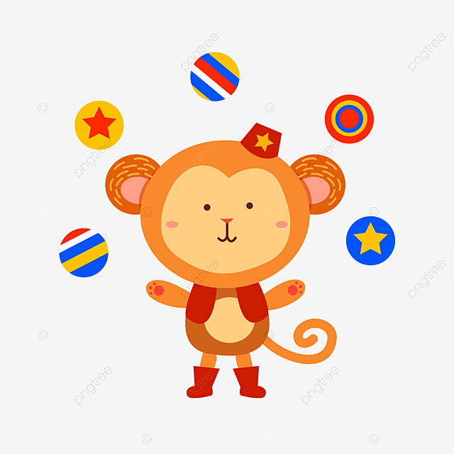 Circus Monkey Gules Black Hat Png Image For Free Download