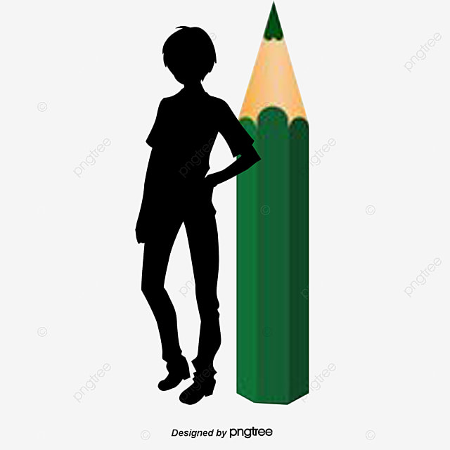 The boy with a pencil boy vector pencil vector boy clipart png and