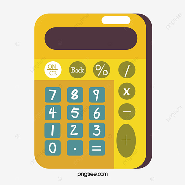 yellow calculator vector png calculator yellow png and vector for