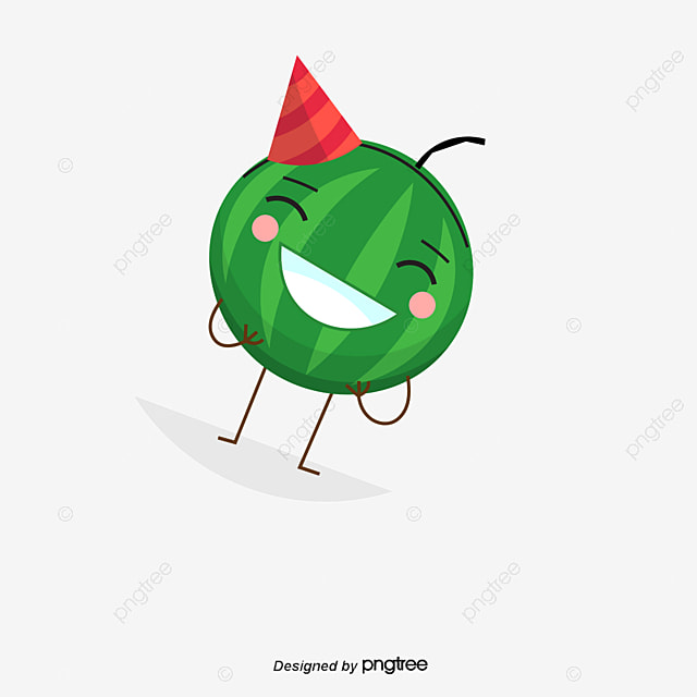Cartoon Watermelon Vector Summer Png And Vector For Free