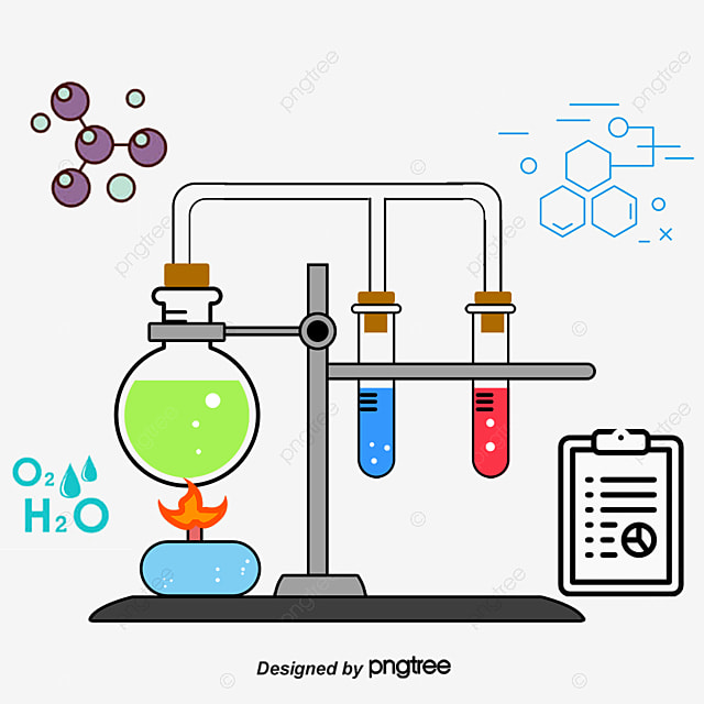 Cartoon Chemistry Png Vector Psd And Clipart With
