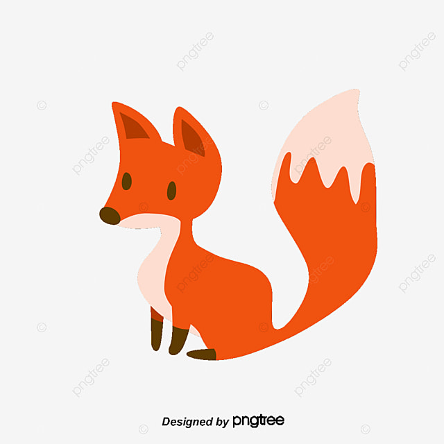 A clever little fox fox vector fox clipart vector png png and vector for free download - Clipart renard ...