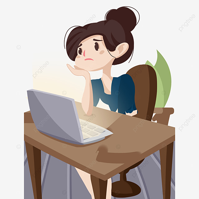 thinking person thinking clipart person clipart cartoon png image