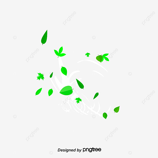 The Wind Blows The Green Leaves_3345484 on Windy Days Clipart
