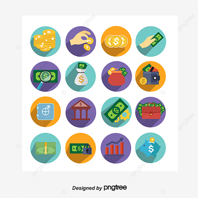 Grab Purse Icon Money Word Symbol Wallet Money Png And