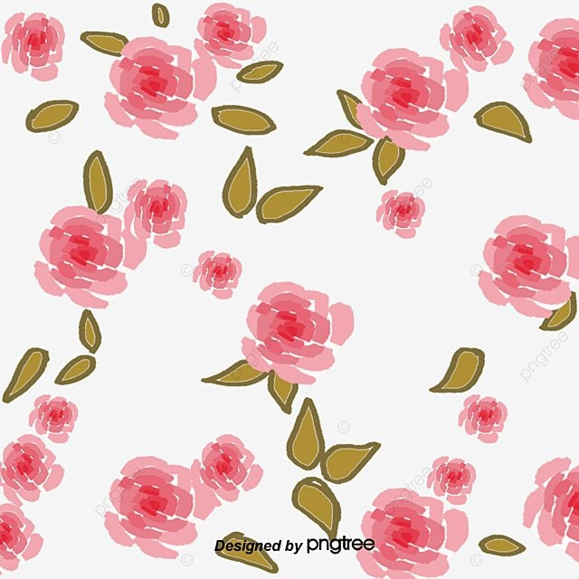Flower Decoration Design Pattern Flowers And Plants PNG