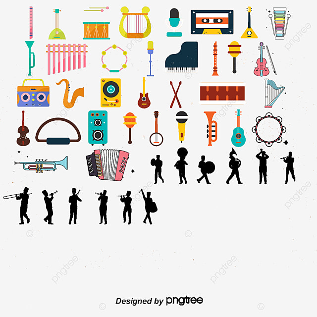 Cartoon Piano Vector Instrument Training Musical Instruments PNG And