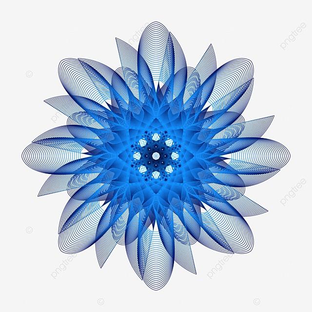 cadre de fleur bleue bleu les fleurs cadre image png pour