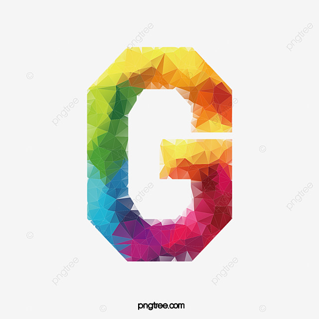 Colorful Letters G Letter Colorful G Png Image And