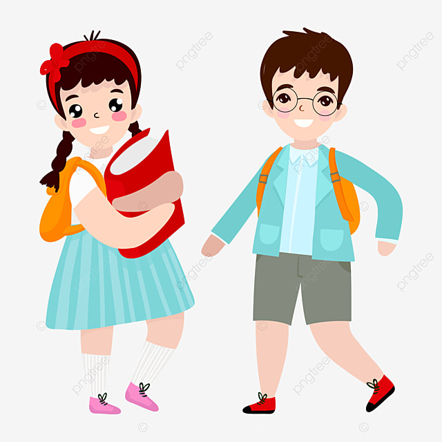 school girl cartoon jane pen girl png image and clipart for free rh pngtree com middle school girl clipart school boy girl clipart