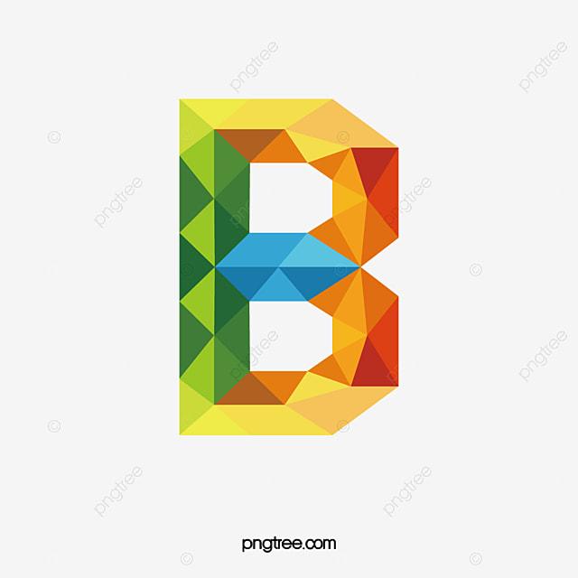 Letras De Colores B, Carta, Color, B Imagen PNG para Descarga gratuita