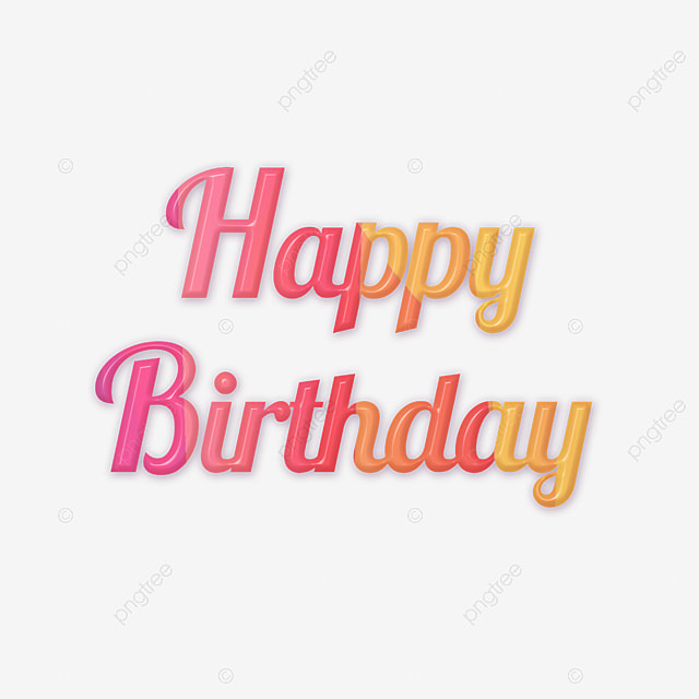 Happy Birthday Colorful Cartoon Clipart Colourful Cake Candles PNG Image