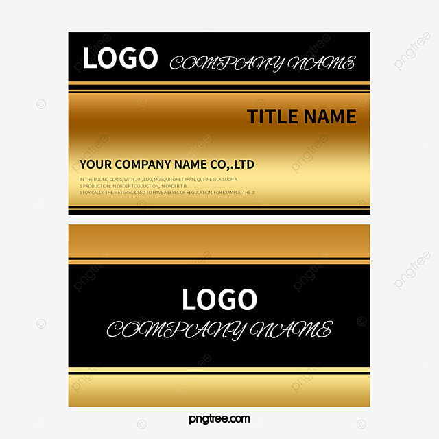 High grade gold business card bar card hotel card hardware card high grade gold business card bar card hotel card hardware card png and colourmoves