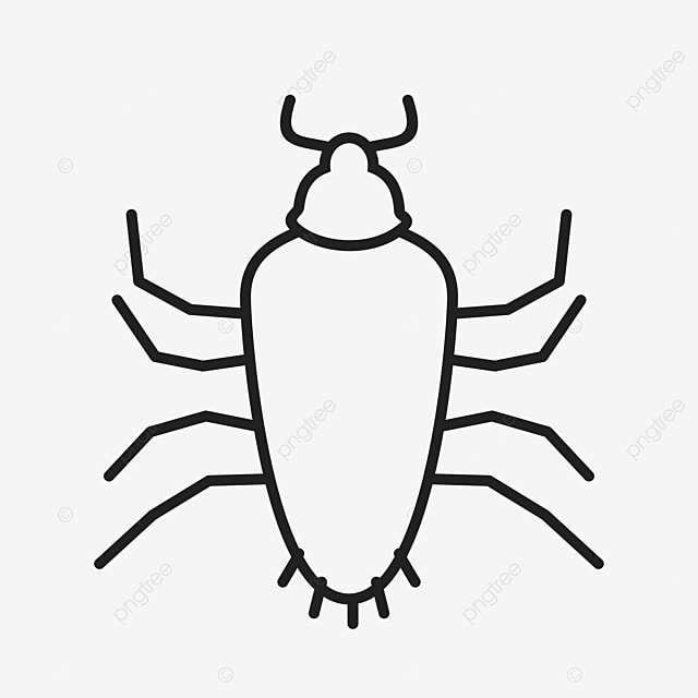 Cartoon Black Cockroach Cartoon Black Cockroach Png