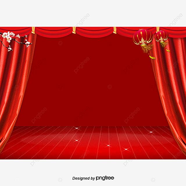 Rideau Rouge De Théâtre Théâtre Cinéma Velours Png Et Vecteur Pour