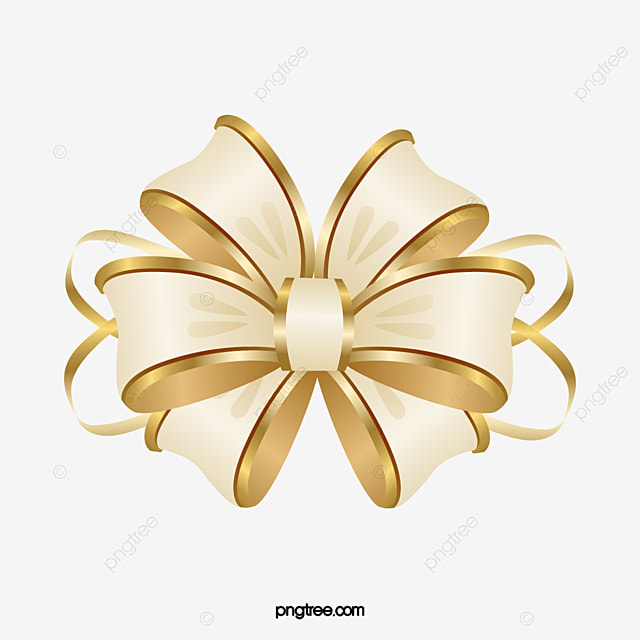 cartoon gold ribbon bow cartoon clipart ribbon clipart bow
