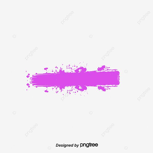 Purple Line Brush, Violeta, Línea De Cepillos, Línea PNG y Vector ...