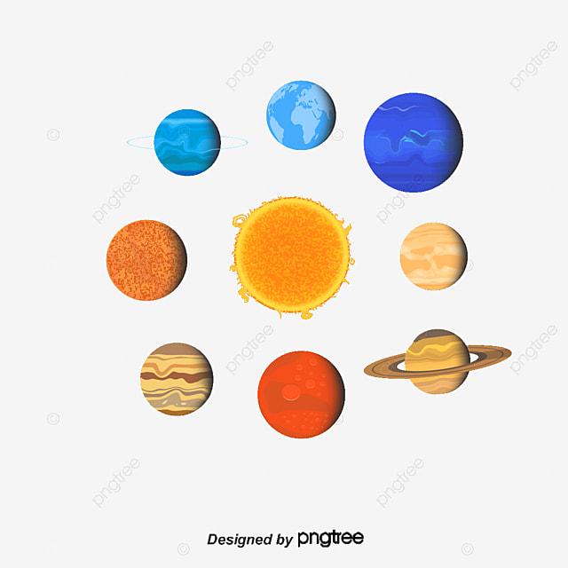 l astronomie du syst u00e8me solaire le vecteur de png les