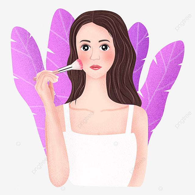 la fille de maquillage fille de maquillage fille maquillage png et vecteur pour t u00e9l u00e9chargement