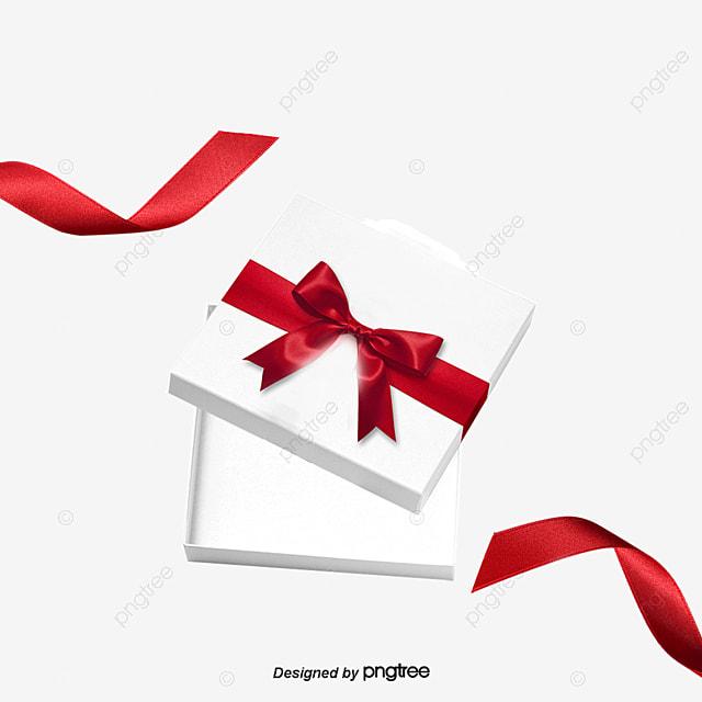 white gift box anniversaire box vide fichier png et psd pour le t u00e9l u00e9chargement libre
