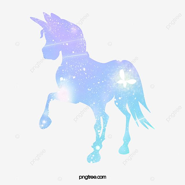 Agua Unicornio Unicornio Ilustración Agua Unicornio Caballo Imagen