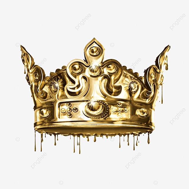 Golden Diamond Crown_3386359 on Queen Clip Art