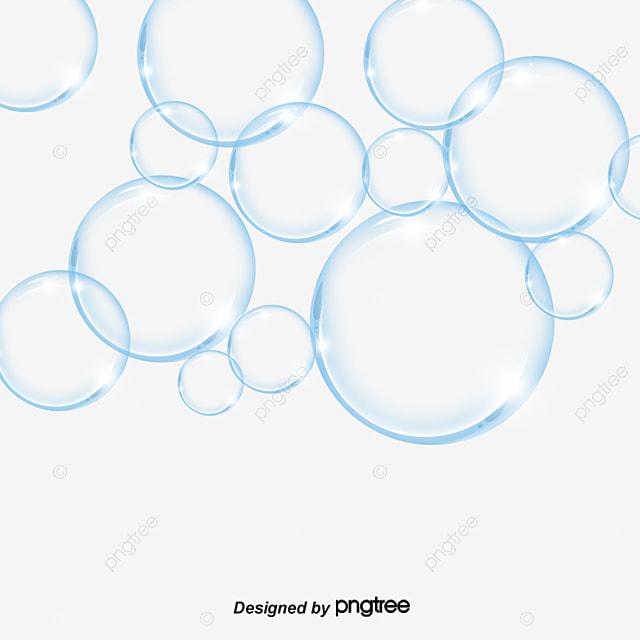 Blue Burbujas Transparentes Burbuja De Oxigeno Burbuja Burbuja Png Y