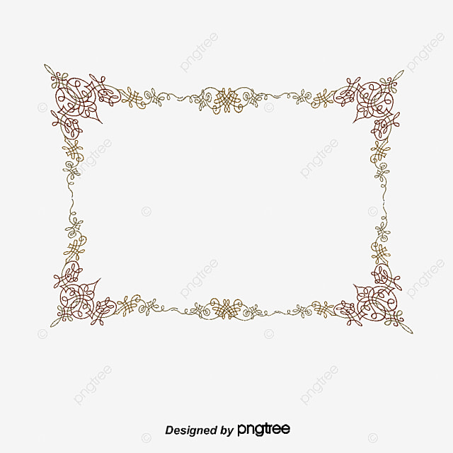 Exquisite Islamic Border, Vector Png, Islamic Pattern