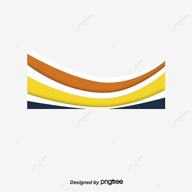 Blue Orange Business Banner Vector PNG Titulo Caja De ...