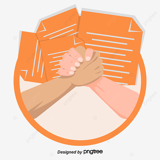 Cooperative Partner Common Goal Reach An Agreement Png And Vector