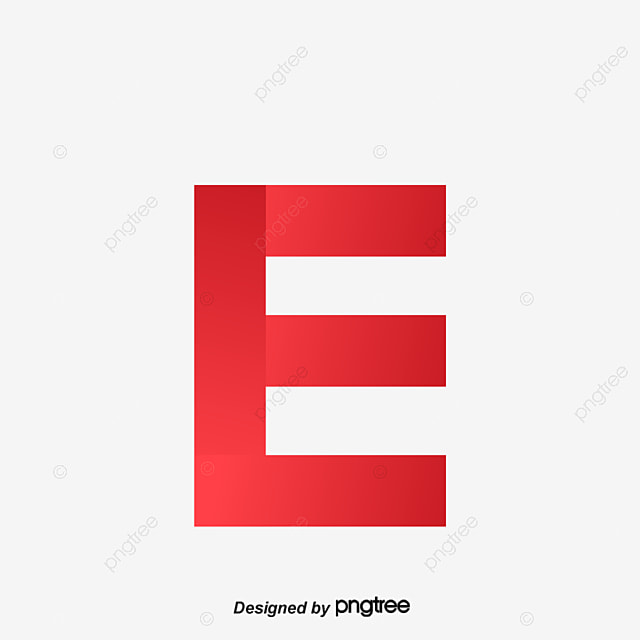 the red letter e letter vector gules letter png and