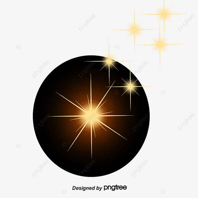 Blue Decorative Star Vector Material Light Effect Starlight PNG And