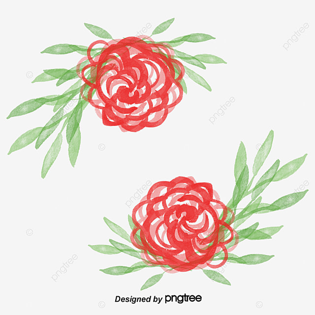 watercolor rose frame rose clipart frame clipart vector png png
